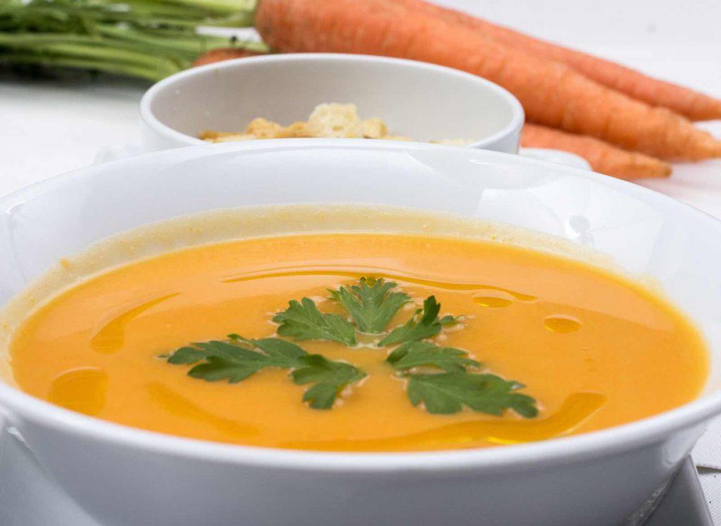 Karotten Süßkartoffel Suppe