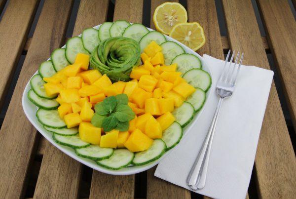 Mango Gurken Salat