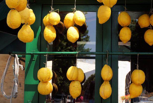 Zitronen einkaufen
