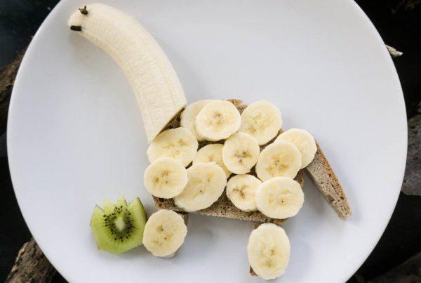 Jausenbrot Banane