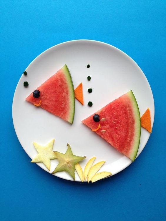 Melonen Fisch