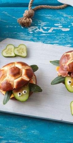 Schildkröten Semmel