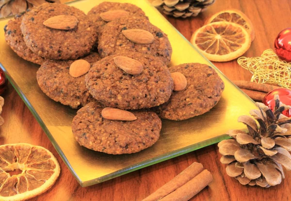 Früchte Kekse